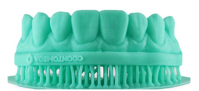 Resina 3D Phrozen Model Aqua Green para impressão de modelos odontológicos